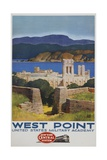 West Point Poster Giclee Print by Leslie Ragan