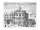 Sheldonian Theatre Giclee Print by David Loggan