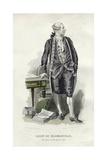 Caron De Beaumarchais Giclee Print by Emile Bayard
