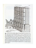Illustration of Building Methods Giclee Print by Giovanni Antonio Rusconi