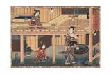 Number 14 Giclee Print by Utagawa Toyokuni