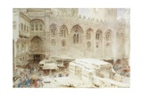 Cairo, in the Dust of the Bazaar Giclee Print by Albert Goodwin