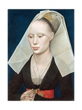 Portrait of a Lady Giclee Print by Rogier van der Weyden