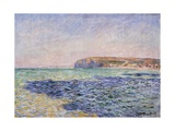 Shadows on the Sea - the Cliffs at Pourville Giclee Print by Claude Monet