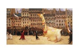 The Goose of the Republic Giclee Print by Jean Veber
