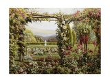 The Rose Garden Giclee Print by Robert Atkinson