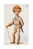 Cecil John Rhodes Giclee Print by Carlo Pellegrini