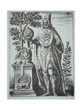 Apollonius of Tyana Book Illustration Giclee Print by Johann Theodor de Bry