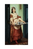 Time for Tea Giclee Print by Valentine Cameron Prinsep