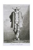 Berger a La Graque Giclee Print by Ennemond Alexandre Petitot