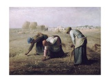 Des Glaneuses (The Gleaners) Giclee Print by Jean-François Millet