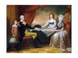 The Washington Family Giclee Print by Edward Savage