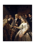 The Unequal Marriage (Old Man Marrying a Younger Woman) Giclee Print by Vasiliy Pukirev