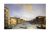 Grand Canal from the Palazzo Balbi Giclee Print by  Canaletto