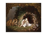 Tatiana Sleeping Giclee Print by Richard Dadd
