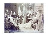 1870's Musical Soirée Giclee Print
