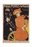 Pneus Ferres Gallus Poster Giclee Print by Jules-Alexandre Grün