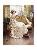 A Quiet Read Giclee Print by William Kay Blacklock