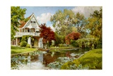The Boathouse Giclee Print by Alfred William Parsons