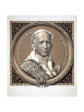 Bust Portrait of Pope Leo XIII Giclee Print