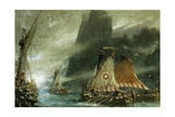 The Sea Raiders Giclee Print by Albert Goodwin