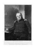 General Johnathon Williams Giclee Print by Richard W. Dodson