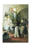 After the Children's Ball Giclee Print by Albert Ludovici
