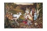 The Enchanted Forest Reproduction procédé giclée par John Anster Fitzgerald