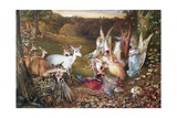 The Enchanted Forest Giclee Print by John Anster Fitzgerald