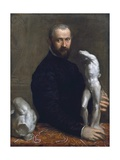 Portrait of Alessandro Vittoria Giclee Print by Paolo Veronese