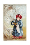 Aladdin or the Wonderful Lamp Trade Card Giclee Print