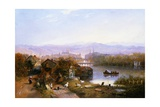 View of Zurich, Switzerland Giclee Print by James Wilson Carmichael