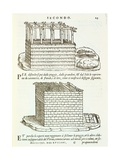 Illustration of Vernacular Architecture Giclee Print by Giovanni Antonio Rusconi