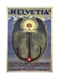 Helvetia Poster Giclee Print by Umberto Boccioni