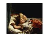 Sweet Slumber Giclee Print by Karl Wilhelm Friedrich Bauerle