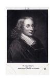 Blaise Pascal Engraving Giclee Print by Henry Hoppner Meyer