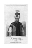 Selim Iii, the Reigning Grand Seignor Engraving Giclee Print by William Nutter
