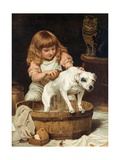 The Order of the Bath Giclee Print by Charles Burton Barber