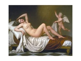 Danaë and the Shower of Gold Giclee Print by Adolf Ulrik Wertmüller