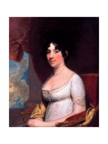 Dolley Payne Madison (Mrs. James Madison) Giclee Print by Gilbert Stuart