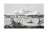 A Naval Battle During the Siege of Tripoli Giclee Print
