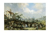 Hinckley Fair Giclee Print by James Holland