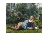 A Quiet Read Giclee Print by William Bromley