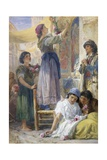 Preparing for the Festival Giclee Print by Francis William Topham