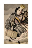 She Has Throughout Her Life Been Betrayed by Those Who Should Have Been Most Faithful to Her Giclee Print by James Tissot