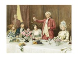 The Toast Giclee Print by George Goodwin Kilburne
