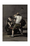 The Forge Giclee Print by Francisco de Goya