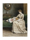 A Quiet Read Giclee Print by George Goodwin Kilburne