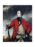 General John Burgoyne Giclee Print by Sir Joshua Reynolds