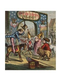 19th-Century Illustration of Uncle Sam and Departing British Soldiers Giclee Print